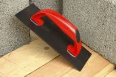 Linic Plastering Float - Red handle. Black base - 278 x 114mm